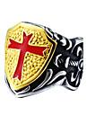 Муж. Мода С перекрещивающимися бретелями Титановая сталь Крест Прочее Бижутерия Повседневные