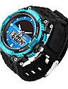 SANDA Men\'s Sport Watch Smart Watch Wrist watch Japanese Solar Energy Calendar Water Resistant / Water Proof Stopwatch Luminous Silicone