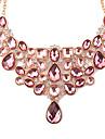 Žene Izjava Ogrlice Ispustiti dame Europska Moda Pink Ogrlice Jewelry Za Party Dnevno