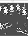 Рождество Музыка Слова и фразы Наклейки Простые наклейки 3D наклейки Декоративные наклейки на стены Свадебные наклейки,Бумага Винил
