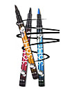1pcs caneta de delineador de agua compacta beleza olho liner lapis cosmeticos multicolor