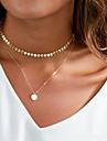 Pentru femei Coliere Choker / Coliere cu Pandativ - De Bază Auriu, Argintiu Coliere Bijuterii Pentru Zilnic, Club