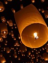 10Pcs Heart-Shaped Kongmin Light Lamp Sky Lantern