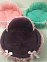 고양이 강아지 침대 애완동물 매트&패드 솔리드 웜 휴대용 폴더 퍼플 그린 핑크 애완 동물