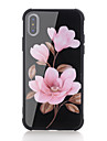 Coque Pour Apple iPhone X iPhone 8 Antichoc Motif Coque Fleur Dur Verre Trempe pour iPhone X iPhone 8 Plus iPhone 8 iPhone 7 Plus iPhone