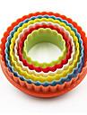 Moldes de bolos Redonda para bolo para Bread Plasticos Ferramenta baking