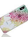 Case For Apple iPhone X / iPhone 8 IMD / Pattern Back Cover Mandala / Glitter Shine Soft TPU for iPhone X / iPhone 8 Plus / iPhone 8