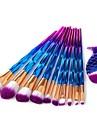 11pcs Pinceis de maquiagem Profissional Conjuntos de pincel Pelo de Cavalo / Pelo Sintetico / Escova de Fibra Artificial