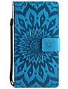 Case For Nokia Nokia 8 Nokia 6 Card Holder Wallet with Stand Embossed Full Body Solid Color Flower Hard PU Leather for Nokia 8 Nokia 6