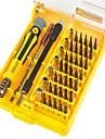 Cell Phone Repair Tools Kit 45 in 1 Screwdriver Extension Bit Screwdriver Sim Card Ejector Pin Replacement Tools Mobile Phone