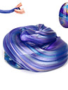 Slime Plasticine Egg Galaxy Starry Sky Stress and Anxiety Relief Decompression Toys Hand-made Novelty Fun New Design Boys\' Kid\'s Adults\'
