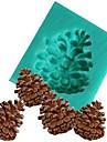 decor pinjansiemeniä kartio silikoni fandont muotti silikageeli suklaa karkkia hometta