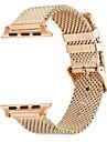 Bracelet de Montre  pour Apple Watch Series 3 / 2 / 1 Apple Boucle Moderne Acier Inoxydable Sangle de Poignet