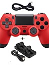 New Game Controller Wired Gamepad Controller Joystick Gamepads with Dual charger for PS4
