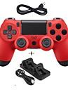 новый игровой контроллер с проводным джойстиком джойстика джойстика джойстика с двойным зарядным устройством для ps4