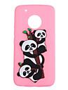 Coque Pour Motorola G5 Plus G5 Motif Panda Flexible pour