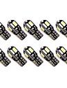 10 pezzi Auto Lampadine 1.6W SMD 5630 8 Luce di svolta For Universali Tutti gli anni