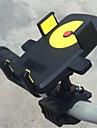 자전거 모바일폰 마운트 스탠드 홀더 조절가능 스탠드 모바일폰 버클 유형 플라스틱 보유자