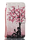 tok Για Samsung Galaxy J5 (2017) J3 (2017) Θήκη καρτών Πορτοφόλι με βάση στήριξης Ανοιγόμενη Μαγνητική Με σχέδια Πλήρης Θήκη Δέντρο Σκληρή