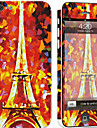 1 pc Skin Sticker for Scratch Proof Eiffel Tower Pattern PVC iPhone 5c