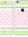 1 piece Autocollant de Protection pour Anti-Rayures Carreau vernise Motif PVC iPhone 6s/6