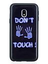 케이스 제품 Samsung Galaxy J5 (2017) J3 (2017) 패턴 뒷면 커버 단어 / 문구 소프트 TPU 용 J5 (2017) J5 (2016) J5 J3 (2017) J3 (2016) J3