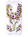 Case For Samsung Galaxy S9 Plus / S9 Glow in the Dark / IMD / Pattern Back Cover Animal / Shine Soft TPU for S9 / S9 Plus / S8 Plus