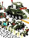 BEIQI ブロックおもちゃ 建設セット玩具 知育玩具 484 pcs 軍隊 互換性のある Legoing ストレスや不安の救済 減圧玩具 親子インタラクション クラシック・タイムレス 軍用車両 戦車 男の子 女の子 おもちゃ ギフト