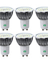 YWXLIGHT® 6pcs 7W 600-700 lm GU10 Focos LED 48 leds SMD 2835 Blanco Calido Blanco Fresco Blanco Natural