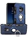 Custodia Per Samsung Galaxy S9 Plus / S9 Resistente agli urti / Supporto ad anello Per retro Geometrica Resistente PC per S9 / S9 Plus / S8 Plus