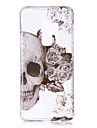 Case For Samsung Galaxy S9 Plus / S9 IMD / Pattern / Transparent Body Back Cover Skull Soft TPU for S9 / S9 Plus / S8 Plus