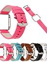 Ремешок для часов для Fitbit Blaze Fitbit Кожаный ремешок Натуральная кожа Повязка на запястье