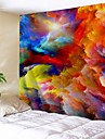 Architecture Wall Decor Polyester Vintage Wall Art, Wall Tapestries Decoration