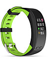 Smart-Armband fuer iOS / Android Herzschlagmonitor / Verbrannte Kalorien / GPS / Wasserdicht / UEbungs Tabelle Schrittzaehler / Anruferinnerung / Fitness Tracker / AktivitaetenTracker / Schlaf-Tracker