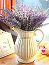 Artificial Flowers 1 Branch Modern Style Lavender Tabletop Flower