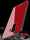 Etui Til Samsung Galaxy S9 Plus / S9 IMD / Speil Bakdeksel Ensfarget Hard Herdet glass til S9 / S9 Plus / S8 Plus