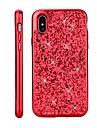 Custodia Per Apple iPhone X / iPhone 8 Placcato / Glitterato Per retro Glitterato Resistente PC per iPhone X / iPhone 8 Plus / iPhone 8