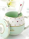 Dryckes Porslin Kaffemuggar Värmeisolerad 1pcs