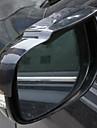 2pcs Carro Sobrancelhas de chuva de carro transparente Tipo de pasta For Espelho Retrovisor For Universal Todos os Modelos Todos os Anos