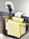 Кухонная организация Полки и держатели Пластик Новый дизайн / Аксессуар для хранения / Прост в применении 1шт