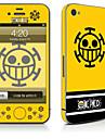 1개 스킨 스티커 용 스크래치 방지 카툰 패턴 PVC iPhone 4/4s