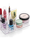 пластик Прямоугольная Новый дизайн Главная организация, 1шт Держатели / Хранение косметики / Органайзеры для стола