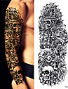 3 pcs Tetovací nálepky dočasné tetování Cartoon Series Tělesné Arts paže