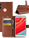 Case For Xiaomi Redmi S2 / Mi 8 Wallet / Card Holder / Flip Full Body Cases Solid Colored Hard PU Leather for Xiaomi Redmi Note 5A / Xiaomi Redmi Note 5 Pro / Xiaomi Redmi Note 5 / Xiaomi Redmi 4A