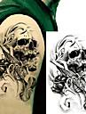 3 pcs Tetovací nálepky dočasné tetování Totemová řada Tělesné Arts paže
