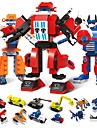 Bausteine Bausatz Spielzeug Bildungsspielsachen 1173 pcs Fahrzeuge Roboter kompatibel Legoing Transformierbar Stress und Angst Relief Lindert ADD, ADHD, Angst, Autismus Jungen Maedchen Spielzeuge