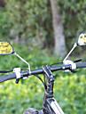 Achteruitkijkspiegel Fietsspiegel voor stuurmontage Verstelbaar / Uitschuifbaar Voor Racefiets Mountain Bike Wielrennen glas ABS Zwart 2 pcs