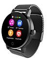 SMA 09A Γιούνισεξ Έξυπνο ρολόι Android iOS Bluetooth Συσκευή Παρακολούθησης Καρδιακού Παλμού Οθόνη Αφής Μεγάλη Αναμονή Κλήσεις Hands-Free Εντοπισμός απόστασης / Βηματόμετρο / Υπενθύμιση Κλήσης