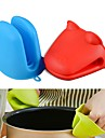 Hippo Frog Shape Silicone Insulated Gloves Oven Mitt Heat Resistant