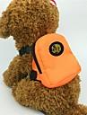 Hund / Katt / Små pälsdjur Ryggsäckar Husdjur Transportörer Mini / Gulligt Enfärgad / Djur Orange / Röd / Grön